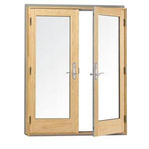 hinged-door